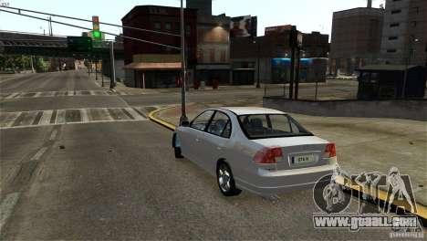 Honda Civic V-Tec for GTA 4 right view