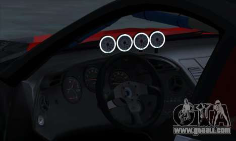 Toyota Supra Evil Empire for GTA San Andreas left view