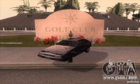 Isuzu Piazza for GTA San Andreas