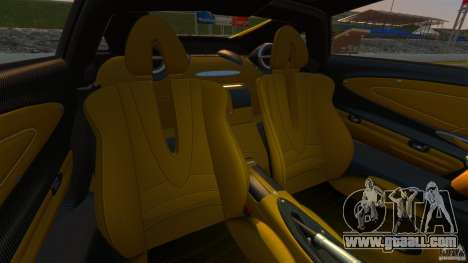 Pagani Huayra 2011 [EPM] for GTA 4 back view