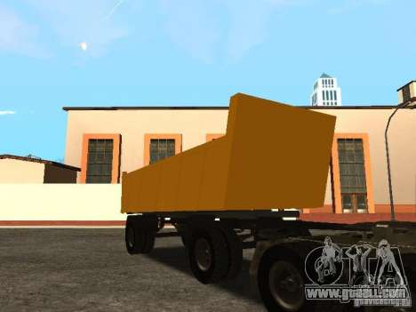 GKB 8350 Flatbed for GTA San Andreas