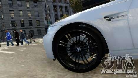 BMW M3 E92 2008 v1.0 for GTA 4 back view