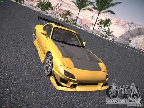 Mazda RX-7 FD3S C-West Custom for GTA San Andreas left view