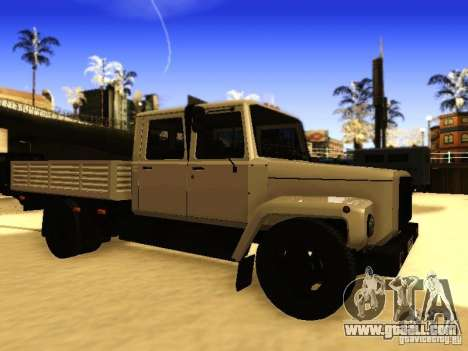 GAZ 3309 double row for GTA San Andreas left view