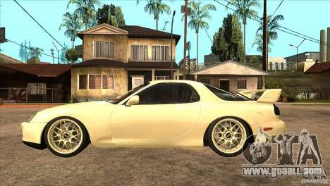 Mazda RX7 FD3S Type-R Bathurst for GTA San Andreas left view