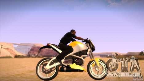 Buell Lightning 1200 for GTA San Andreas right view