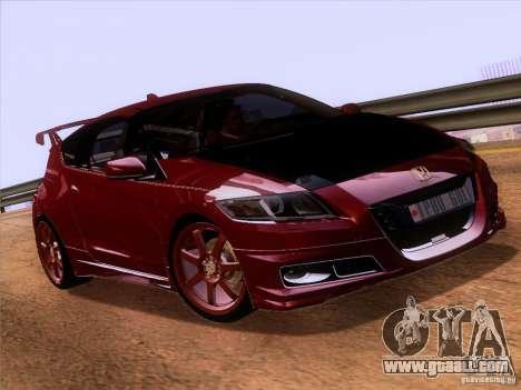 Honda CR-Z Mugen 2011 V2.0 for GTA San Andreas