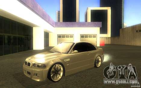 BMW M3 E46 V.I.P for GTA San Andreas