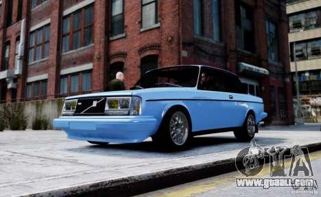 Volvo 242 v2 for GTA 4