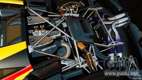 Pagani Huayra 2011 [EPM] for GTA 4 inner view