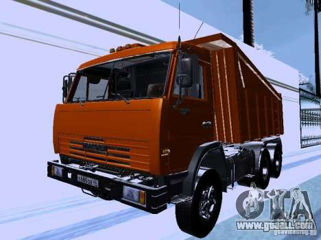 KAMAZ 54115 Truck for GTA San Andreas