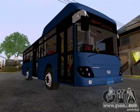 Daewoo Bus BAKU for GTA San Andreas