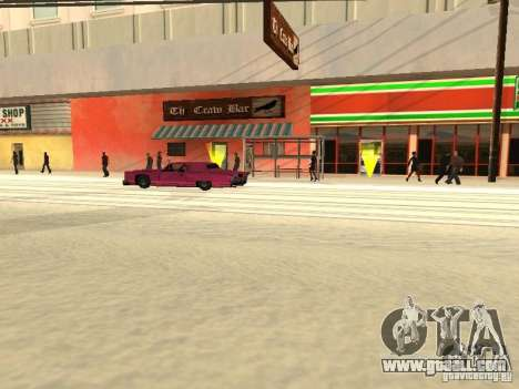 Increase traffic for GTA San Andreas forth screenshot