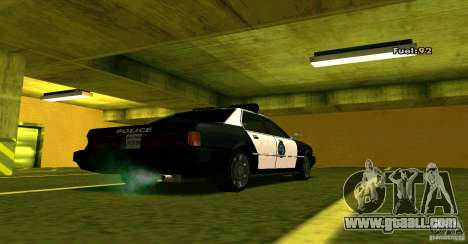 Sentinel Police LV for GTA San Andreas left view