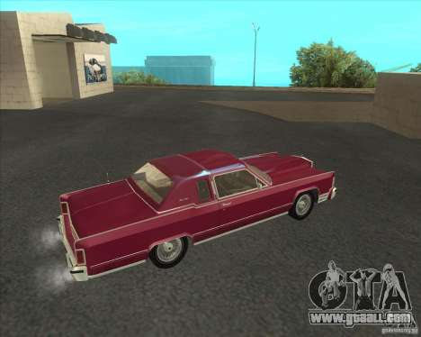 Lincoln Continental Town Coupe 1979 for GTA San Andreas left view