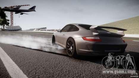Porsche GT3 997 for GTA 4 back view