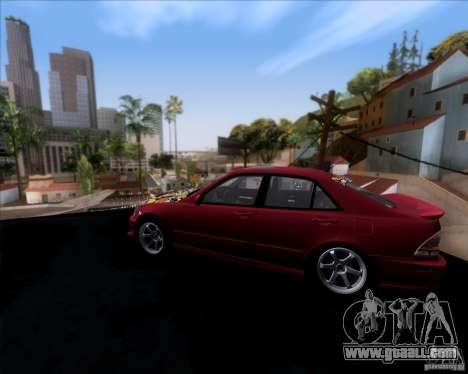 Lexus IS300 Hella Flush for GTA San Andreas left view