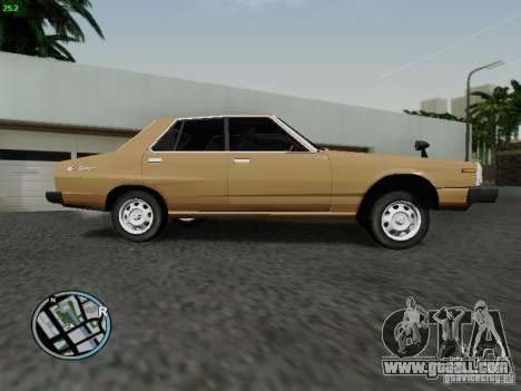 Nissan Skyline 2000GT C210 for GTA San Andreas left view