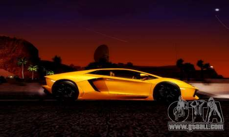 Lamborghini Aventador LP 700-4 for GTA San Andreas left view