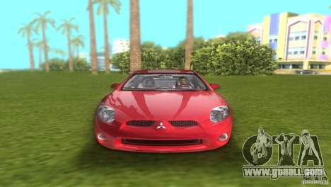 Mitsubishi Eclipse GT 2007 for GTA Vice City right view