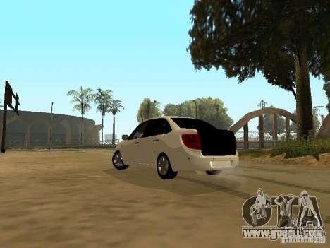 Lada Grant for GTA San Andreas left view