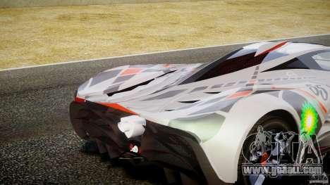 Mazda Furai Concept 2008 for GTA 4 interior