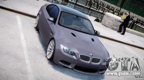 BMW M3 E92 stock for GTA 4