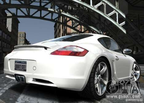 Porsche Cayman S1 for GTA 4 side view