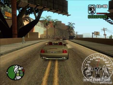 Spyder Cambriocorsa for GTA San Andreas right view