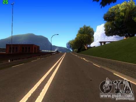 Roads Moscow for GTA San Andreas sixth screenshot