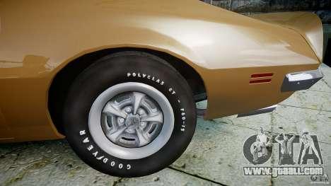 Pontiac Firebird 1970 for GTA 4 right view