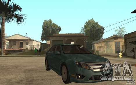 Ford Fusion 2010 for GTA San Andreas back view