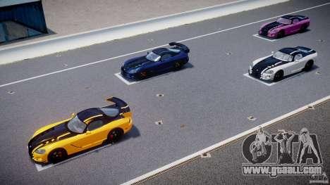 Dodge Viper SRT-10 ACR 2009 v2.0 [EPM] for GTA 4 engine
