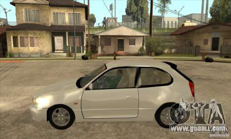 Toyota Corolla G6 Compact E110 JP for GTA San Andreas left view