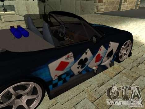 Mazda MX5 Miata for GTA San Andreas right view