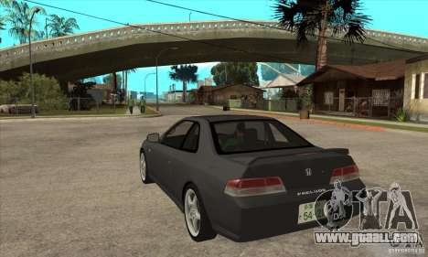 Honda Prelude SiR for GTA San Andreas back left view