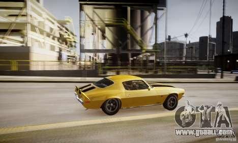 Chevrolet Camaro Z28 for GTA 4 interior