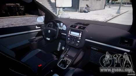 Volkswagen Golf GTI 2006 v1.0 for GTA 4 bottom view
