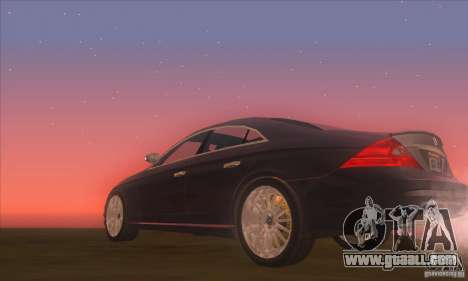 Mercedes-Benz CLS AMG for GTA San Andreas right view