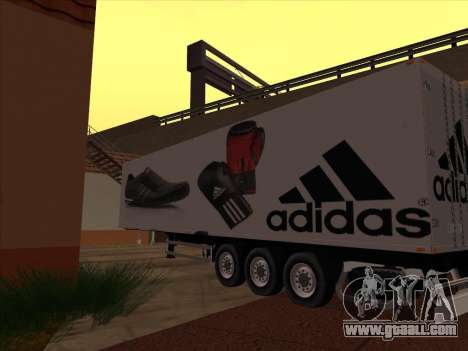 Trailer Adidas for GTA San Andreas right view