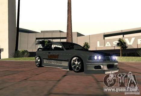 BMW M3 MyGame Drift Team for GTA San Andreas back left view