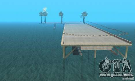 Dan Island v1.0 for GTA San Andreas second screenshot