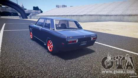 Datsun Bluebird 510 Tuned 1970 [EPM] for GTA 4 back left view