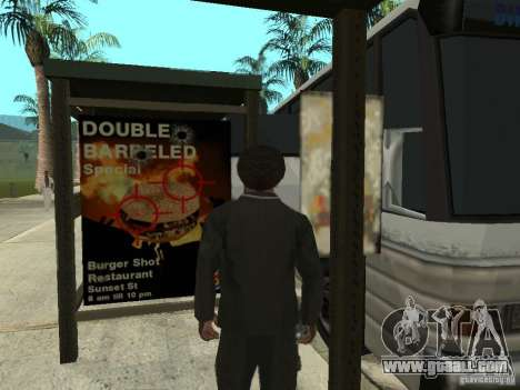 Bus line in Las Venturas for GTA San Andreas fifth screenshot