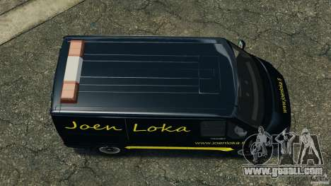 Ford Transit Joen Loka [ELS] for GTA 4 right view