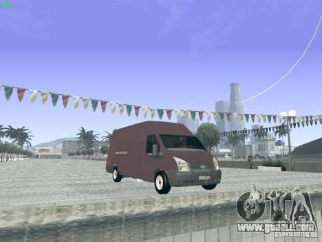 Ford Transit Jumbo 350L 2009 for GTA San Andreas right view