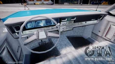 Chevrolet Impala Police 1983 v2.0 for GTA 4 back view
