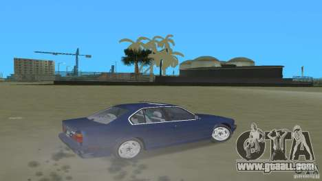 BMW 540i e34 1992 for GTA Vice City right view