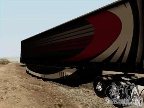 Aero Dynamic Trailer for GTA San Andreas right view