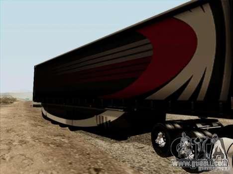 Aero Dynamic Trailer for GTA San Andreas right view